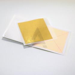 Трансферное Золото (1.40) красное  91.5х91.5  30 листов   1 книжка