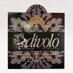 Поталь   имитация золота   140х140мм  25 листов   Divolo